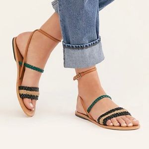 Free People Secret Beach Strappy Sandal